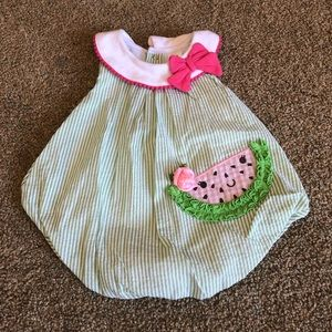 Baby Essentials - watermelon onesie